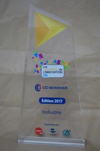 lauréat des trophées de l'innovation du Morbihan 2017
